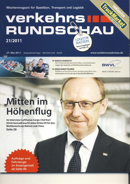 Fachzeitschrift Verkehrsrundschau - Vom aussterben bedroht