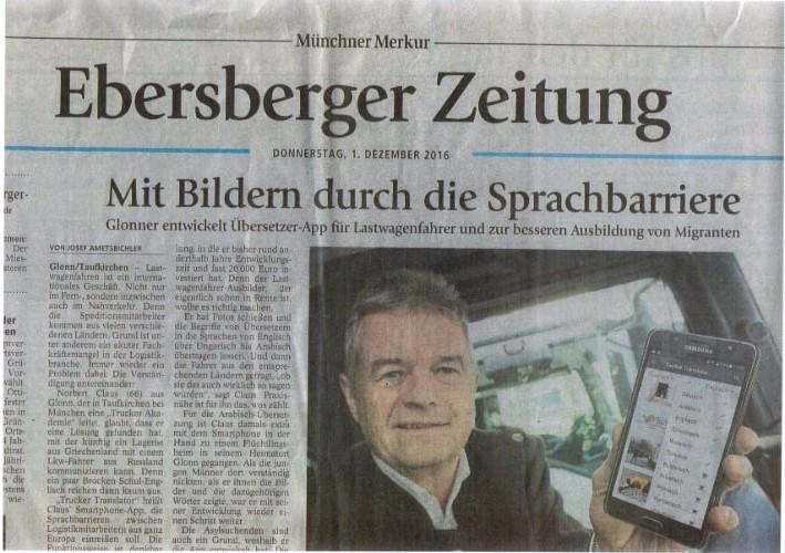 Münchner Merkur - Mit Bildern durch die Sprachbarriere