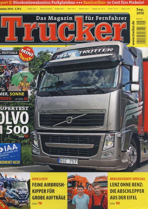 Trucker Magazin - Selbst ist der Mann