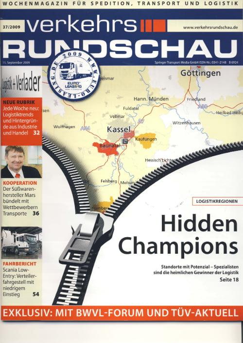 Fachzeitschrift Verkehrsrundschau - Stets zu Diensten